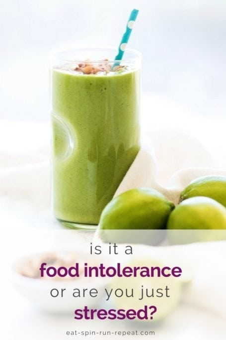 Is it a food intolerance, or are you just stressed? | 5 easy ways to reduce stress, ease digestion and improve gut health | Angela Simpson, Eat Spin Run Repeat