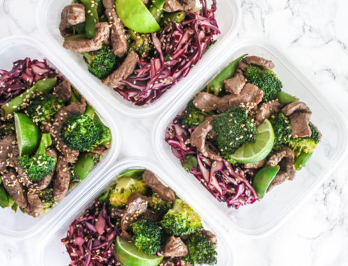 Easy meal prep: Stir fry dinners for a week