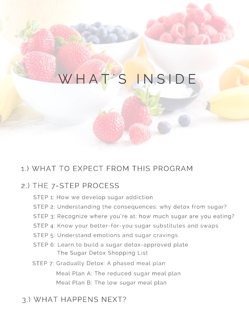 Feel Better Sugar Detox - by Angela Simpson, culinary nutrition expert + holistic wellness coach