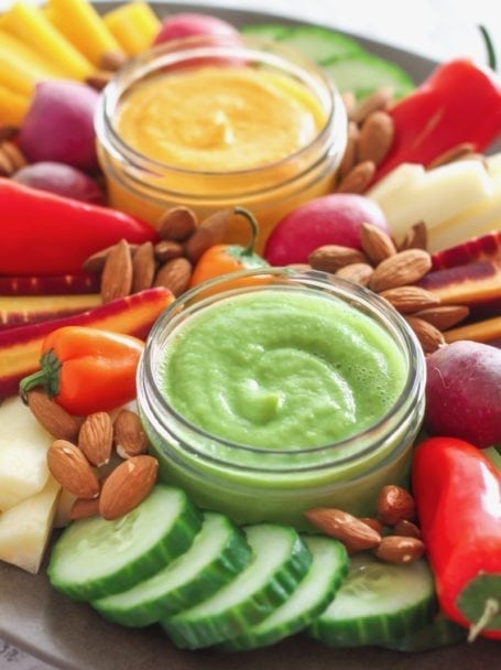Cilantro Ginger Jalapeno Sauce, plus a roundup of homemade sauces that will make you crave vegetables (seriously!) - via Angela Simpson | eat-spin-run-repeat.com | #antiinflammatory #vegan #glutenfree #paleo