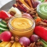 Creamy Coconut, Turmeric and Ginger Sauce, plus a roundup of homemade sauces that will make you crave vegetables (seriously!) - via Angela Simpson | eat-spin-run-repeat.com | #antiinflammatory #vegan #glutenfree #paleo