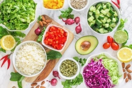 Choose Your Own Adventure Buddha Bowl Formula | An easy meal prep template for delicious nourish bowls every time! | Angela Simpson, Eat Spin Run Repeat #mealprep #buddhabowl #eatclean
