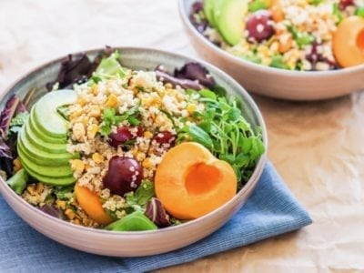 7 quinoa salads + tips for healthy summer barbecues | Angela Simpson