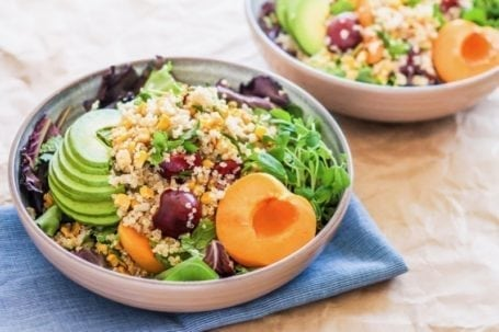 7 quinoa salads + tips for healthy summer barbecues   Angela Simpson, Eat Spin Run Repeat