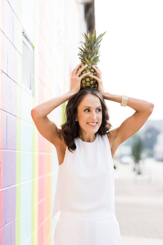 Angela Simpson - culinary nutrition expert, coach and blogger, Los Angeles, California