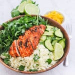 Easy Tandoori Grilled Chicken | This easy, paleo and Whole30-approved marinated chicken is bursting with flavour - and it's a great healthy meal prep recipe too! | My Fresh Perspectve | #whole30 #paleo #chicken #mealprep #eatclean #cleaneating #sugardetox