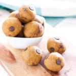 Vanilla Maple Chocolate Chip Protein Bites | Easy No-Bake Protein Bites, 5 Ways with vegan and paleo variations! | My Fresh Perspective | #glutenfree #dairyfree #vegan #vegetarian #paleo