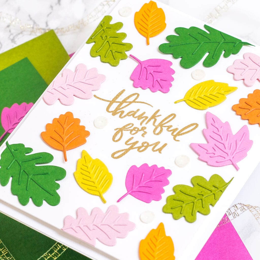 Lots of Autumn Leaves Part 2 - Card 1 - The Stamp Market