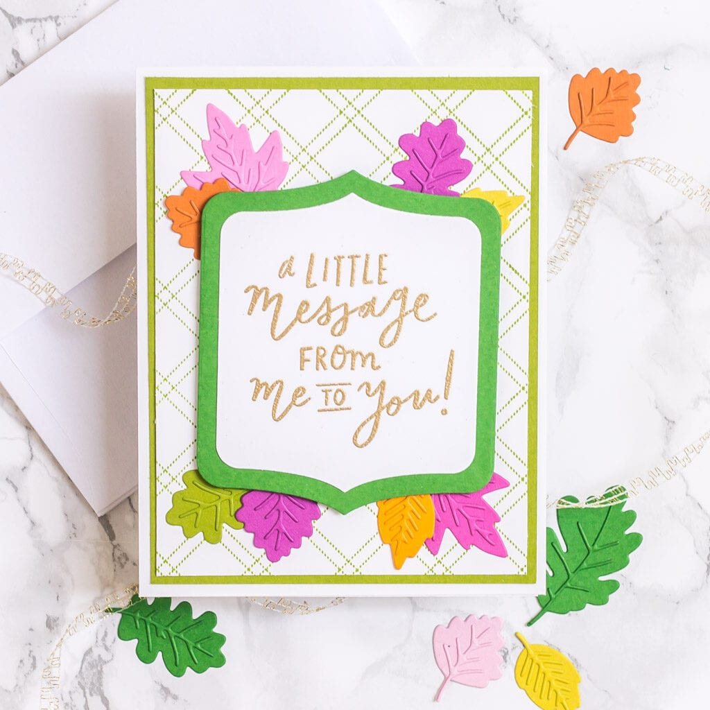 Lots of Autumn Leaves Part 2 - Card 2 - The Stamp Market