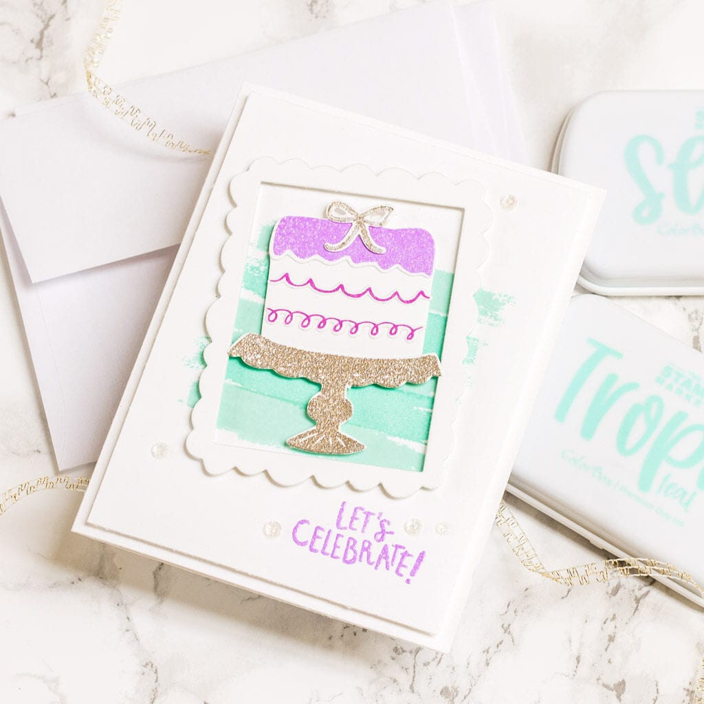 A Sparkly Celebration for World Cardmaking Day - The Stamp Market - My Fresh Perspective