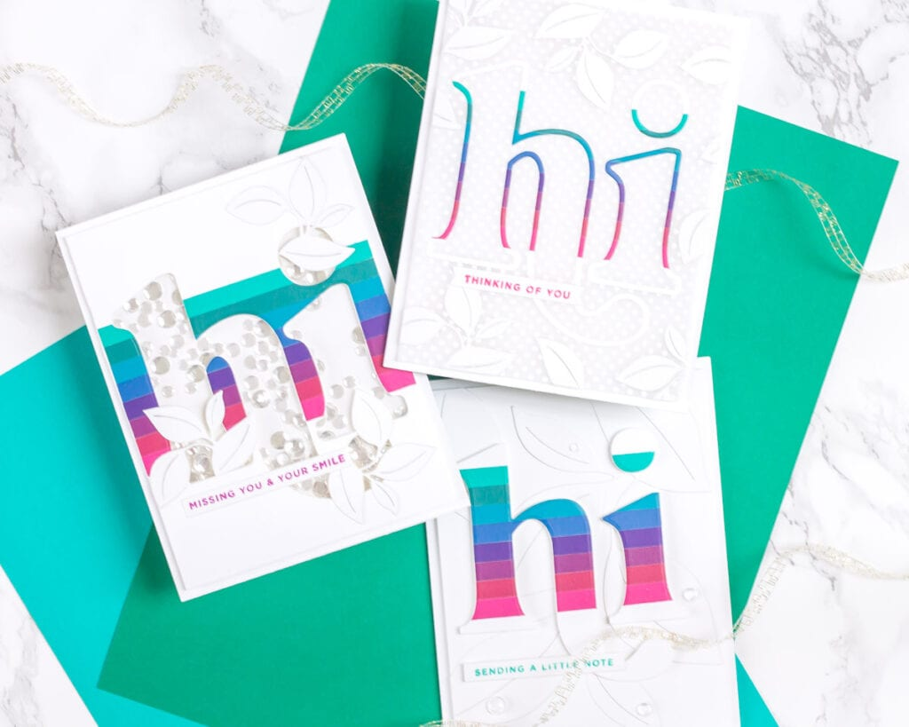 Jumbo Hi and Jewel Tones featuring The Stamp Market - My Fresh Perspective