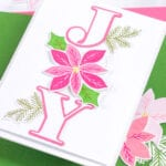 Pointsettias and Pine Boughs - featuring The Stamp Market