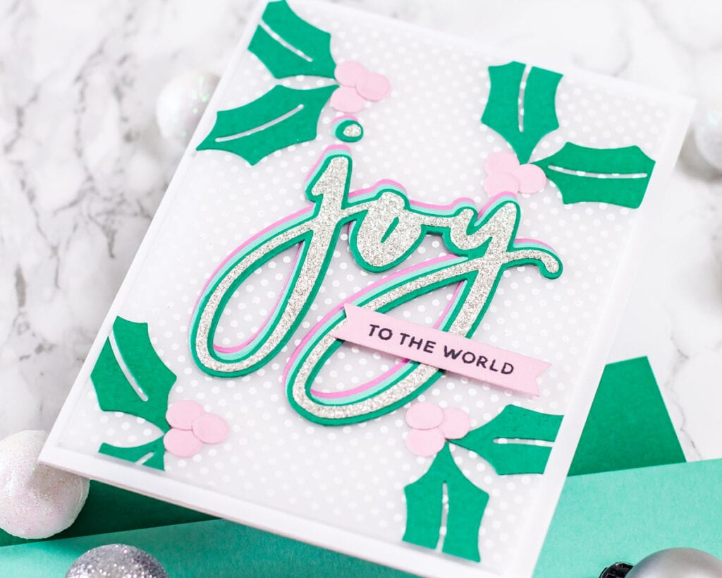 Sending Joy and Sparkles - featuring The Stamp Market - My Fresh Perspective