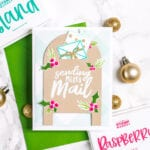 Sending Merry Mail - featuring The Stamp Market gift card holder die - My Fresh Perspective