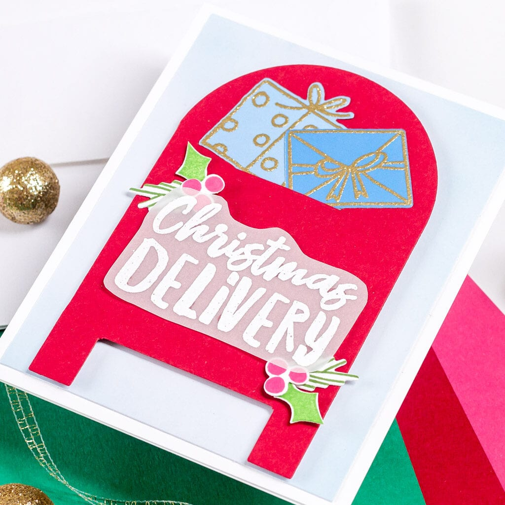 A Special Christmas Delivery - featuring The Stamp Market Mailbox Gift Card Holder die