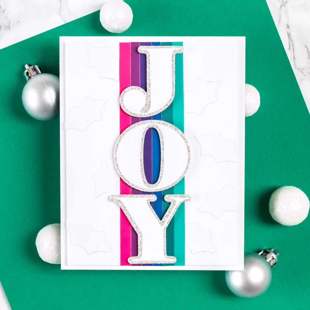 Jumbo Joy Cards - featuring The Stamp Market Jumbo Joy Dies