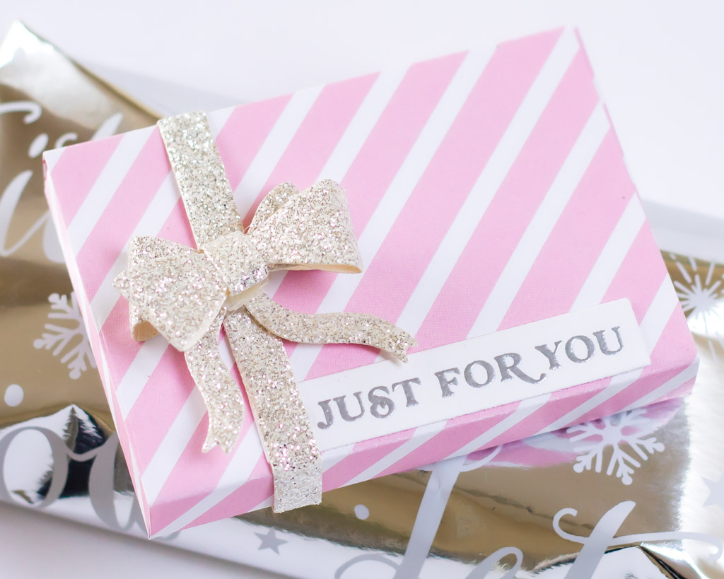 Handmade Holiday Gift Packaging and Tags - featuring The Stamp Market Gift Card Box Die