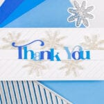 A Snowy Thank You - featuring Pinkfresh Studio