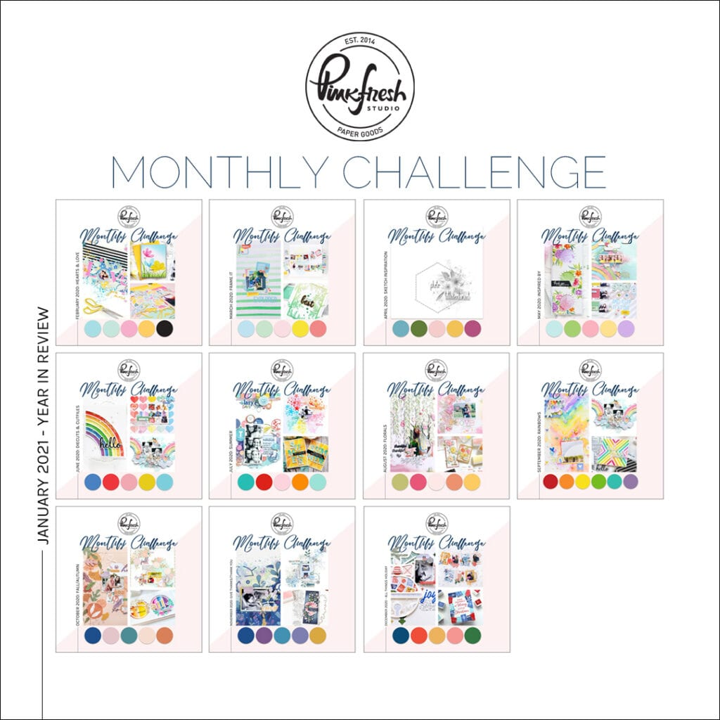 Pinkfresh Studio Monthly Challenge