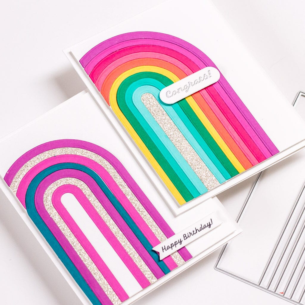 Rainbows and Sparkles - featuring The Stamp Market