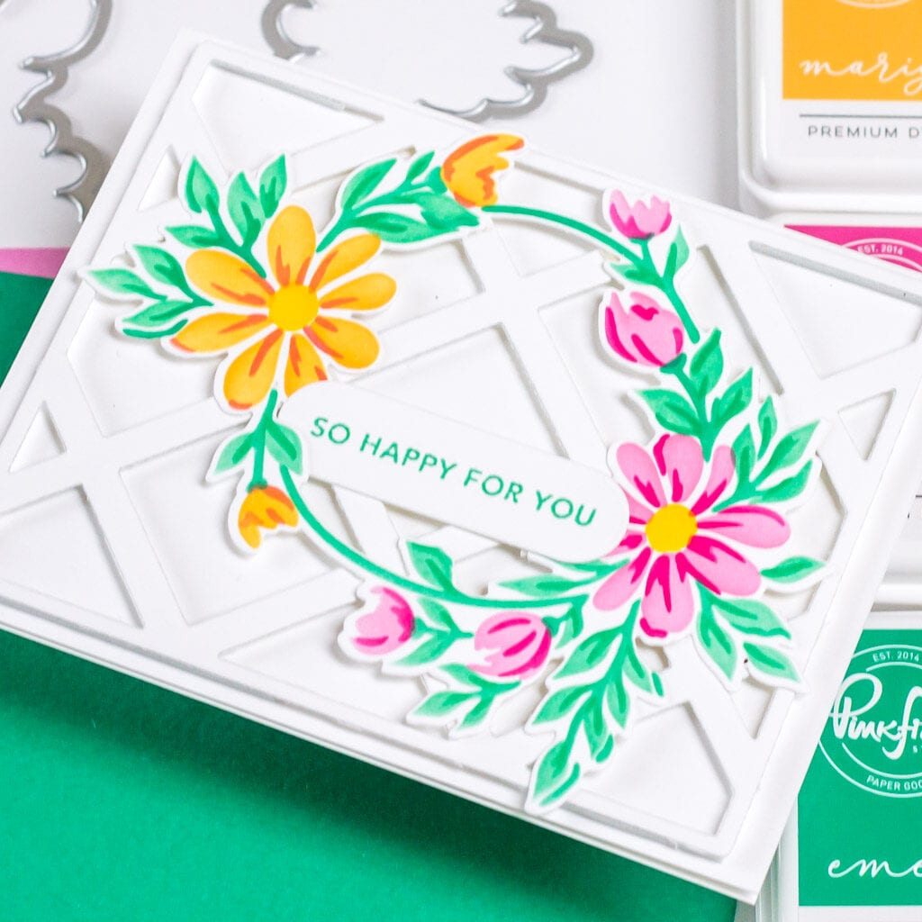 So Happy For You Florals - featuring Pinkfresh Studio