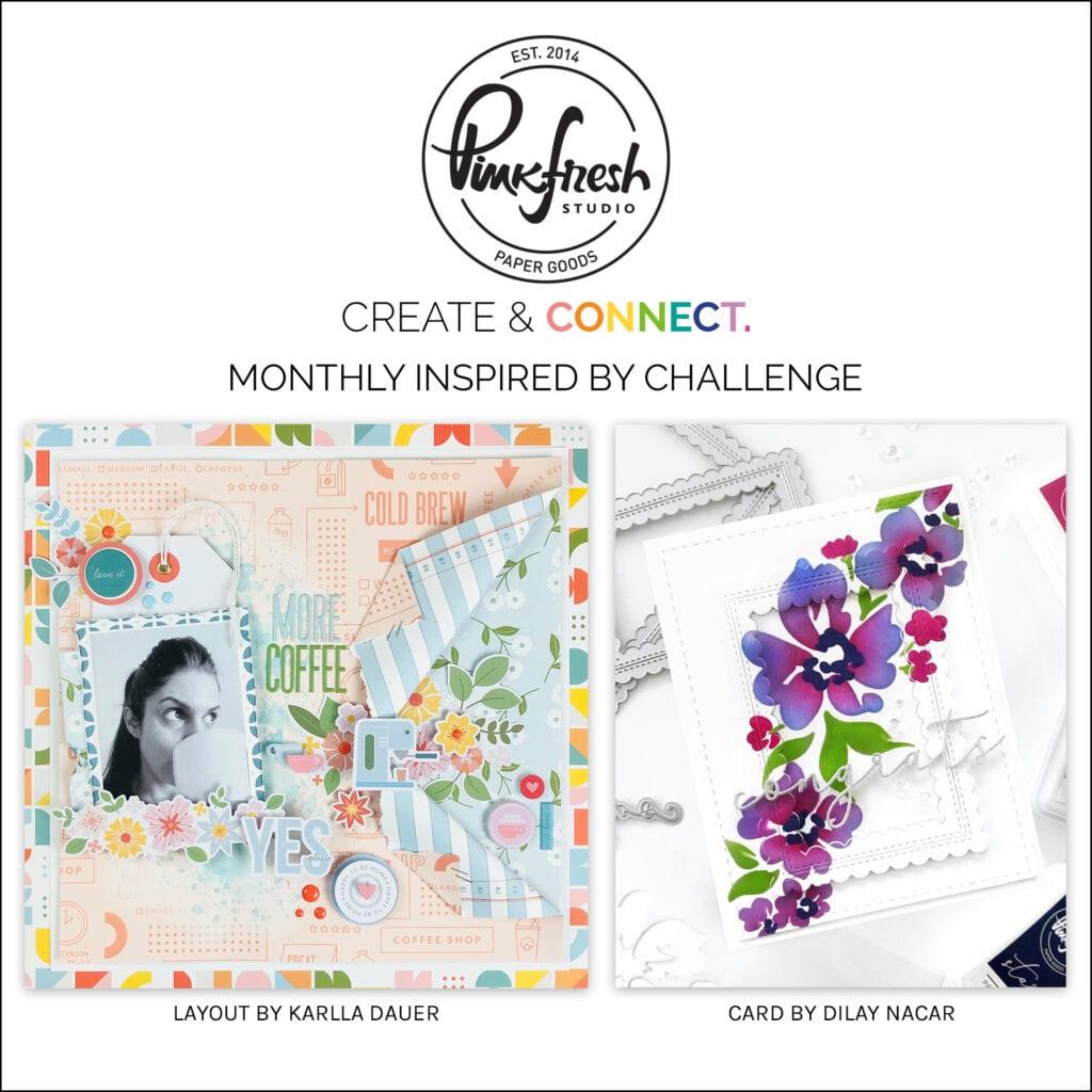 Pinkfresh Studio February Inspired By Challenge
