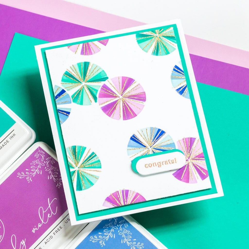 Seamless Starbursts - Pinkfresh Studio February 2021 Release
