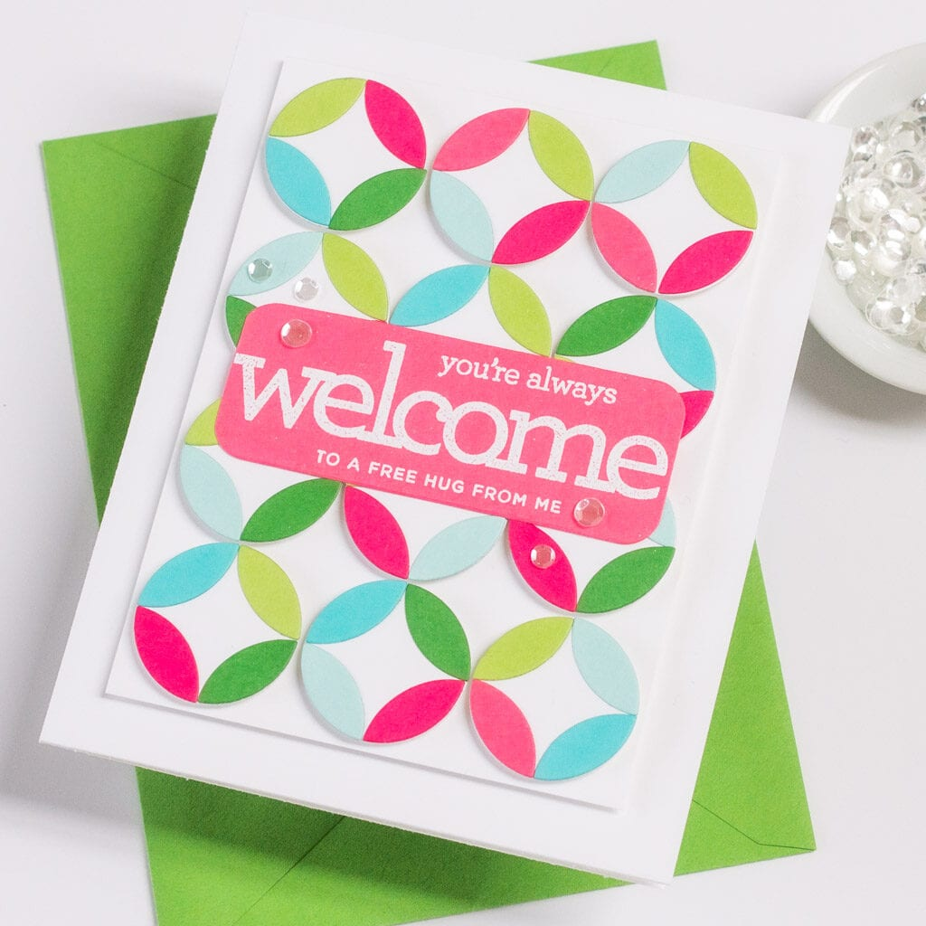 Simon Says Stamp Hello Beautiful Release - Welcoming Stamp Set