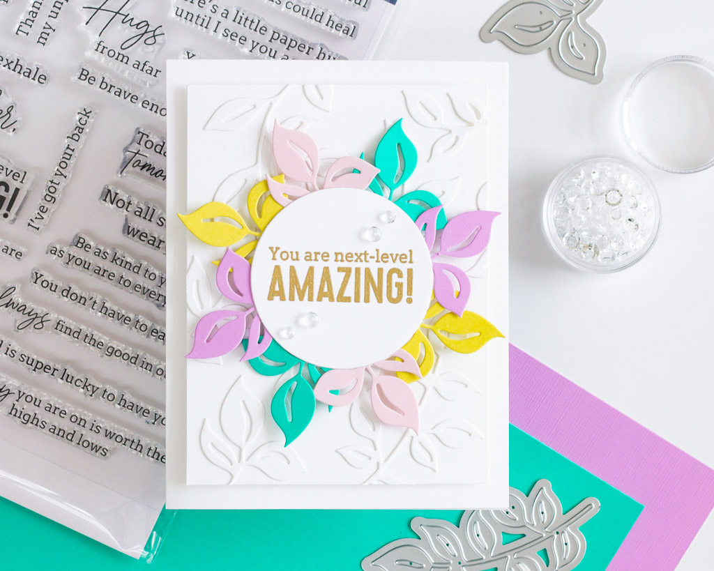 You are Next-Level Amazing - featuring Pinkfresh Studio