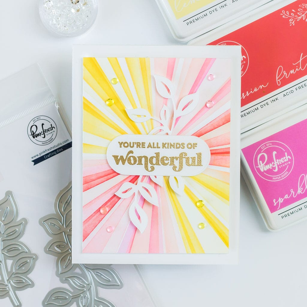 You're All Kinds of Wonderful - Featuring Pinkfresh Studio