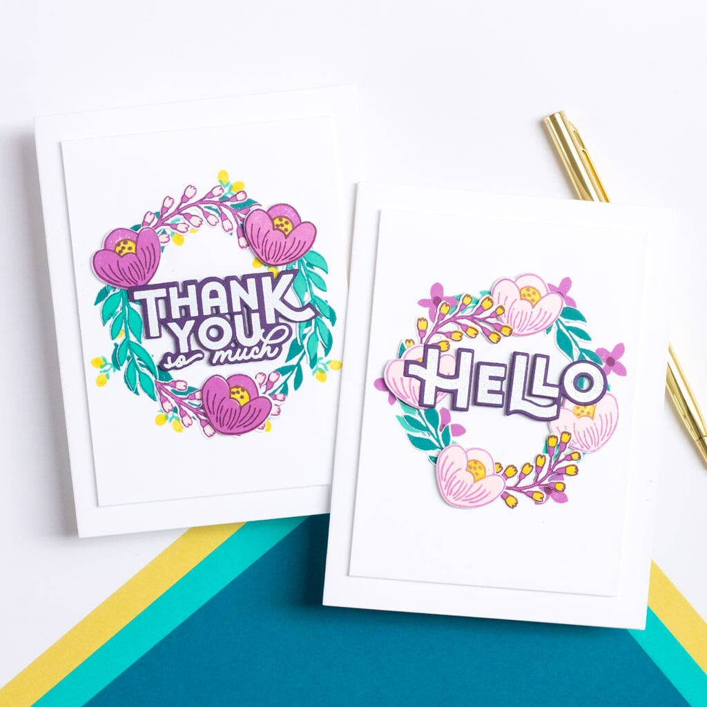 Hello Beautiful Blooms - featuring Pigment Craft Co
