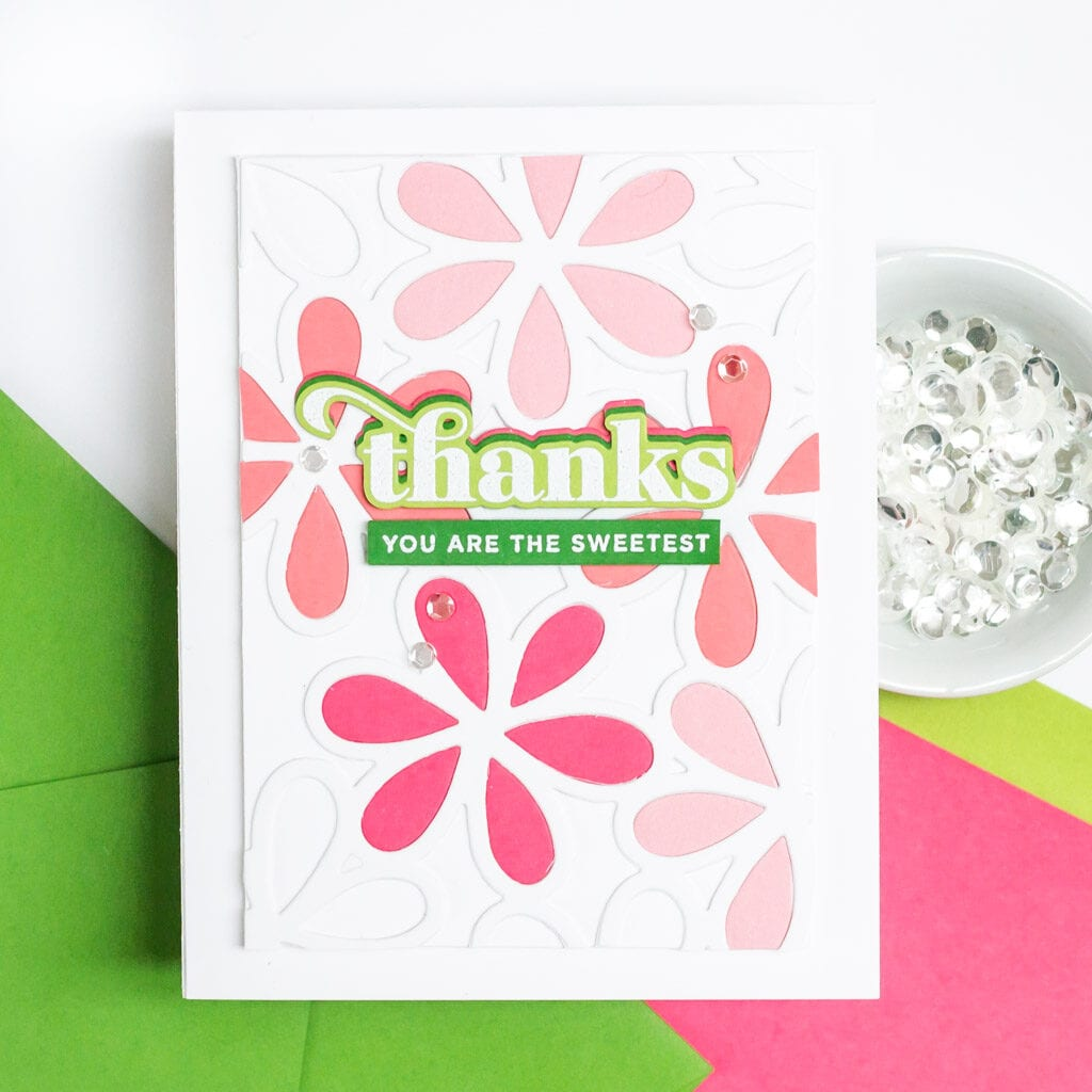 You are the Sweetest Floral Card - featuring The Stamp Market Gorgeous Greetings