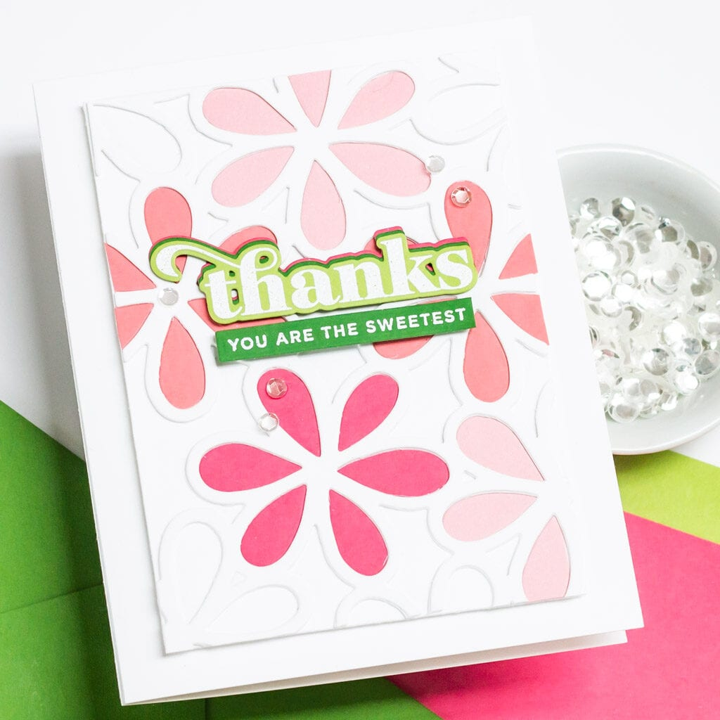 You are the Sweetest Floral Card - The Stamp Market