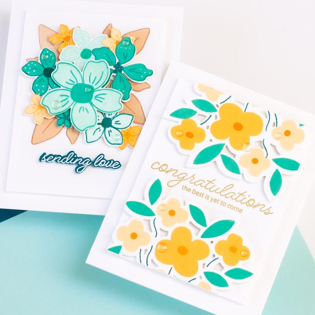 Pigment Craft Co Celebration Bouquet Cards