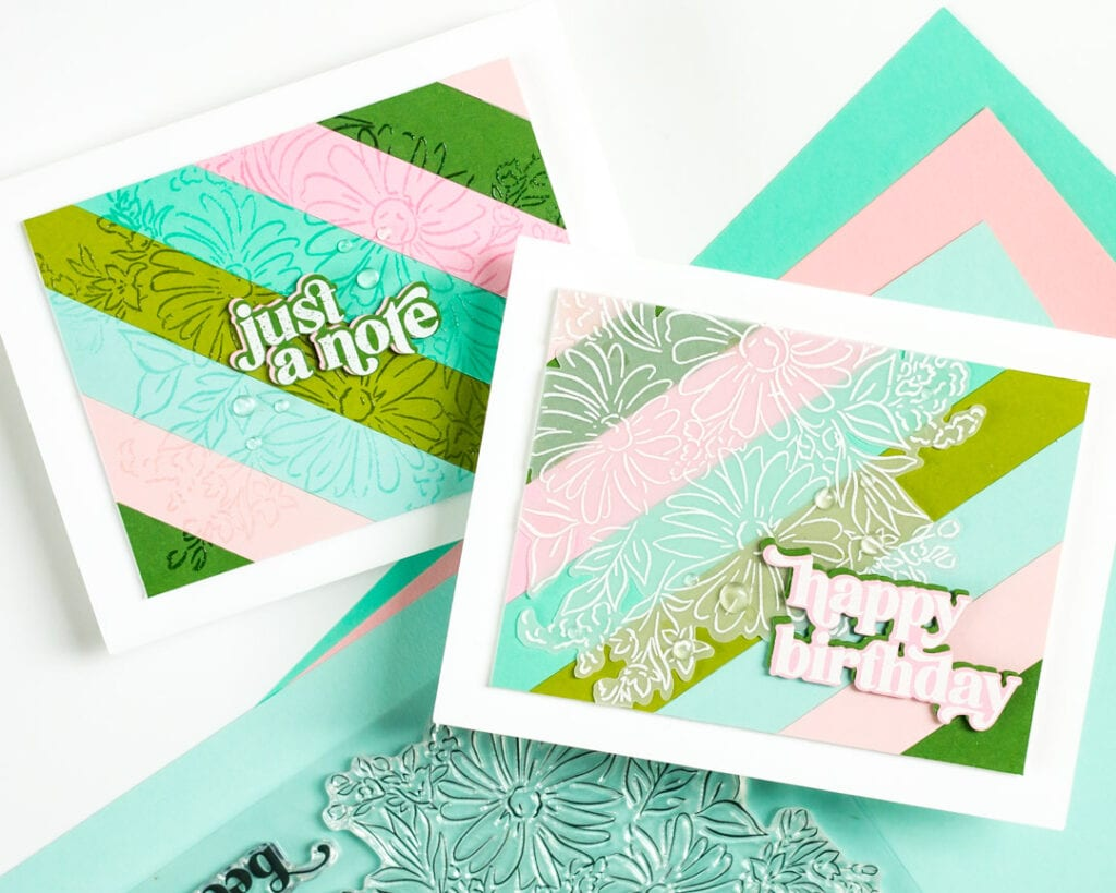Pinkfresh Studio April Release - Floral Bunch and Perfect Sentiments
