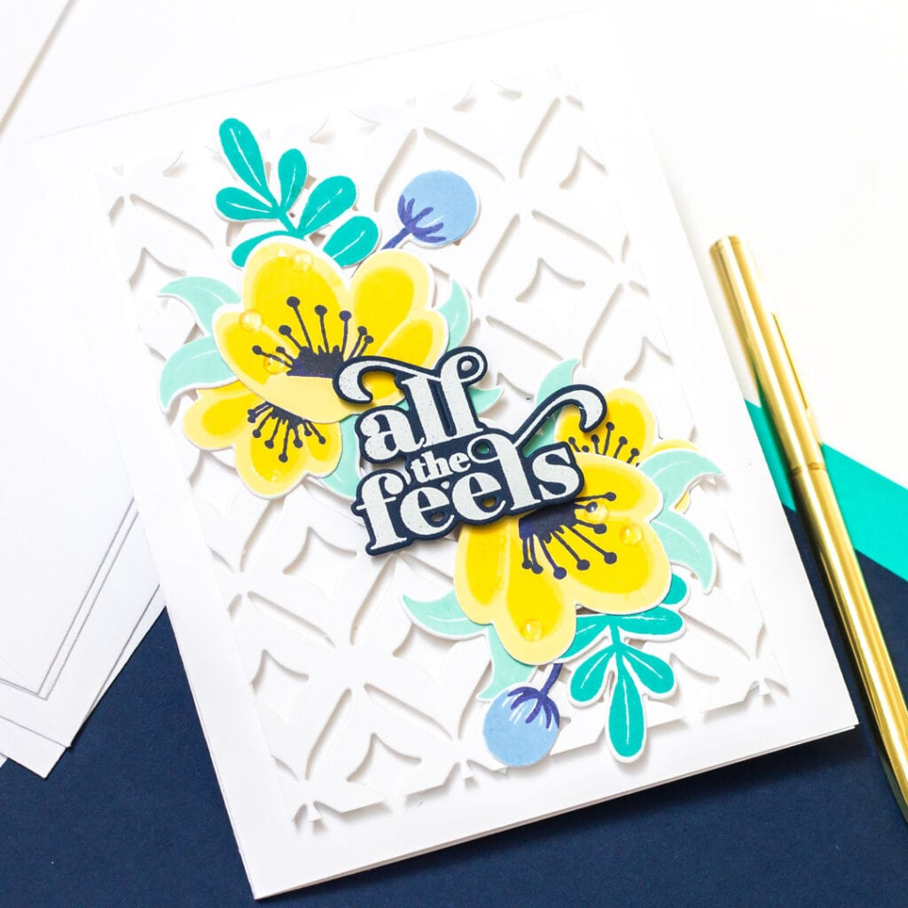 All the Feels - featuring Pigment and The Stamp Market