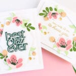 Pigment Craft Co May Release - Blossoming Stamp and Dies