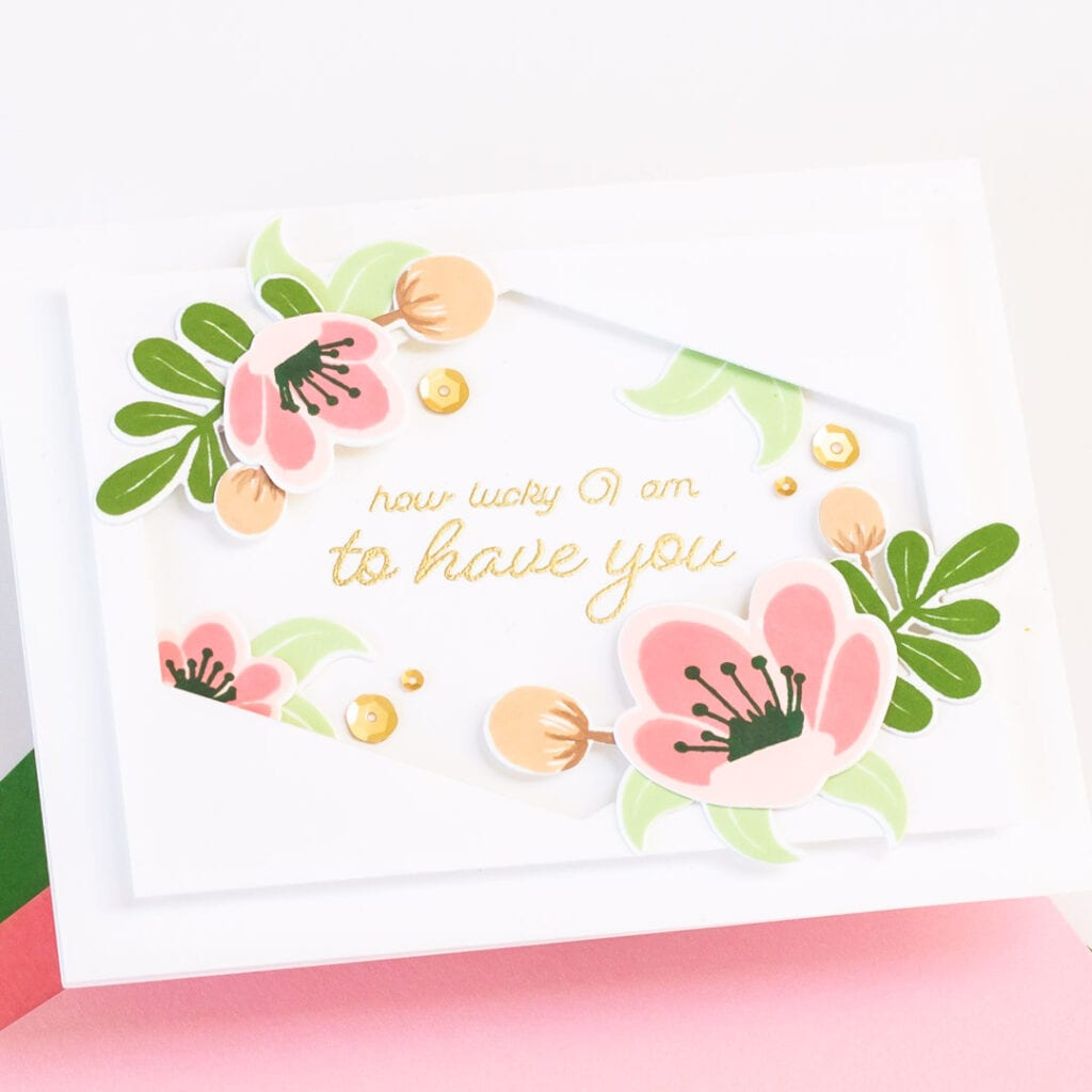 Pigment Craft Co May Release Cards - How Lucky I am to Have You