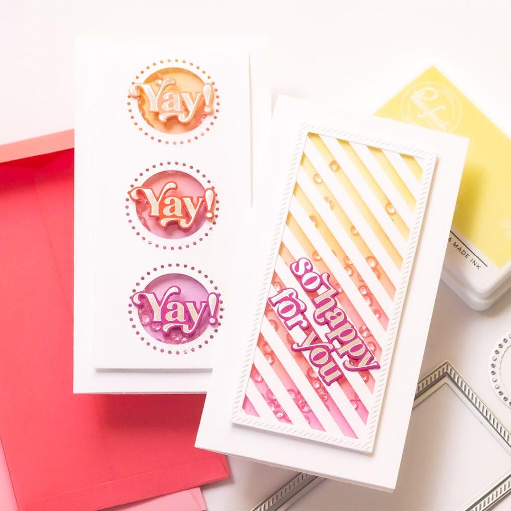 Pinkfresh Studio Mini Slimline Essentials Bundle Cards
