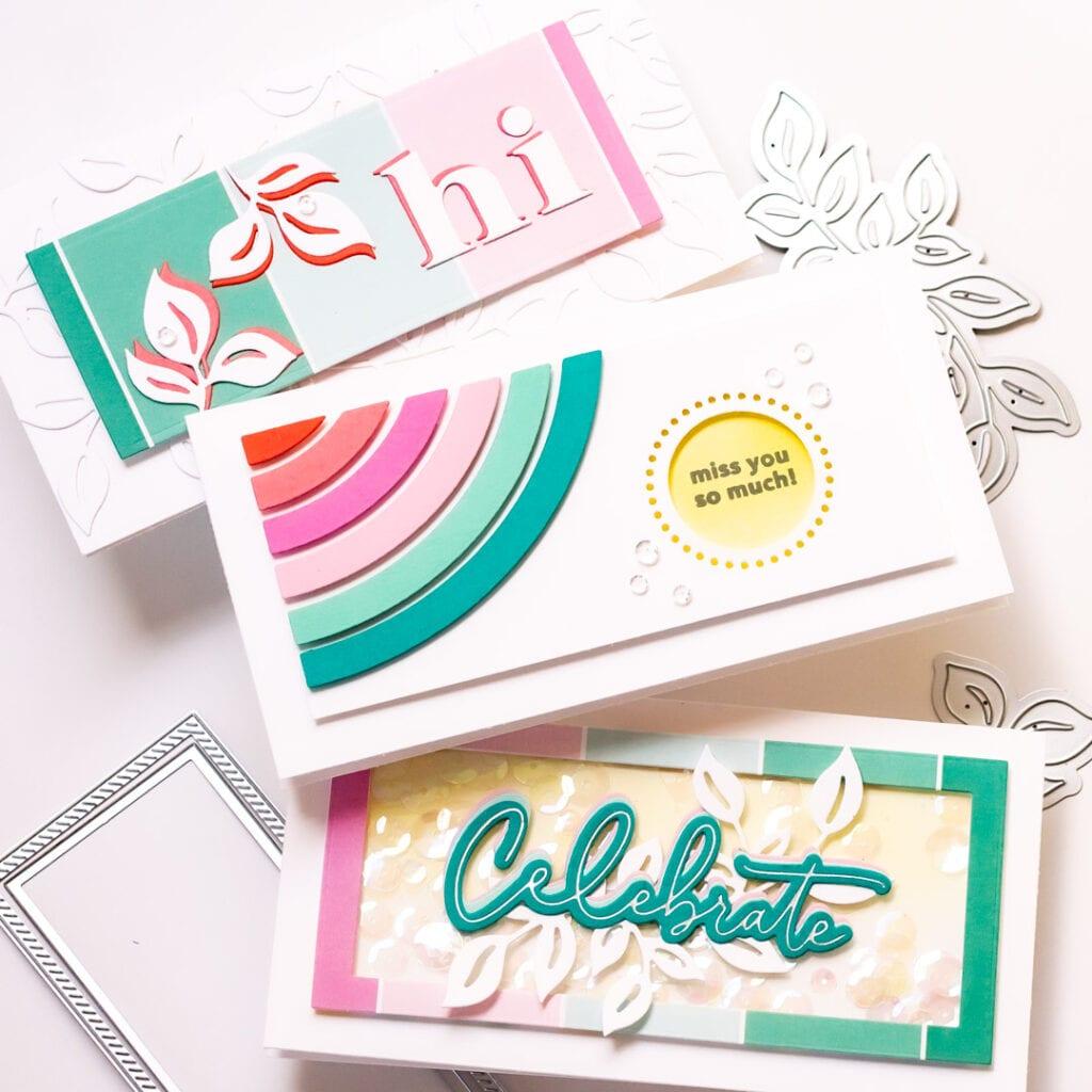 Pinkfresh Studio Mini Slimline Cards