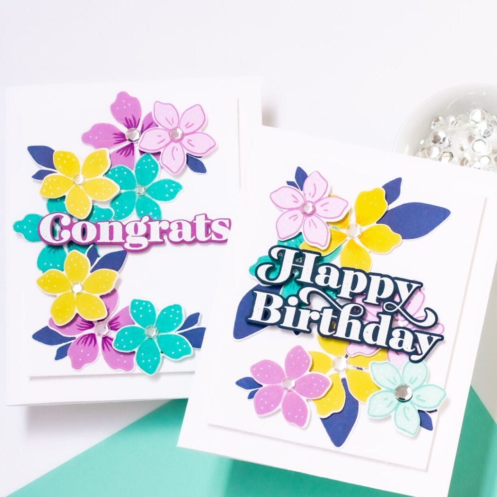 Spring Floral Greetings - Featuring Pigment Craft Co and The Stamp Market