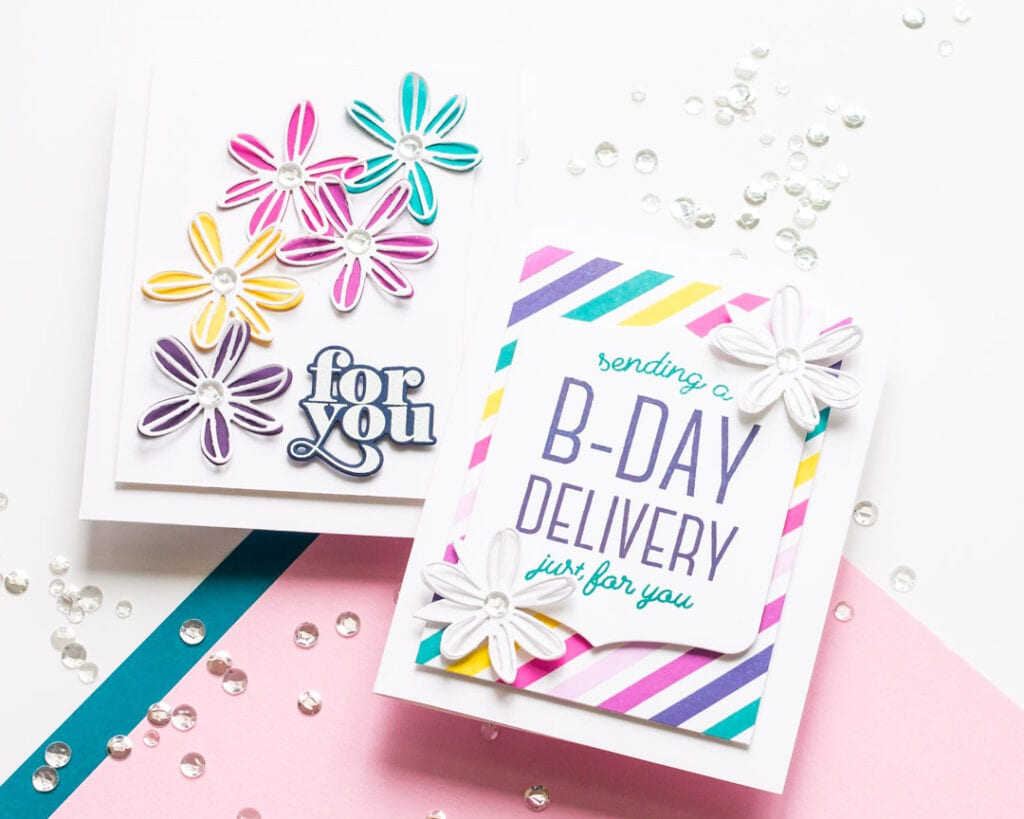 A Birthday Delivery Just for You - featuring The Stamp Market