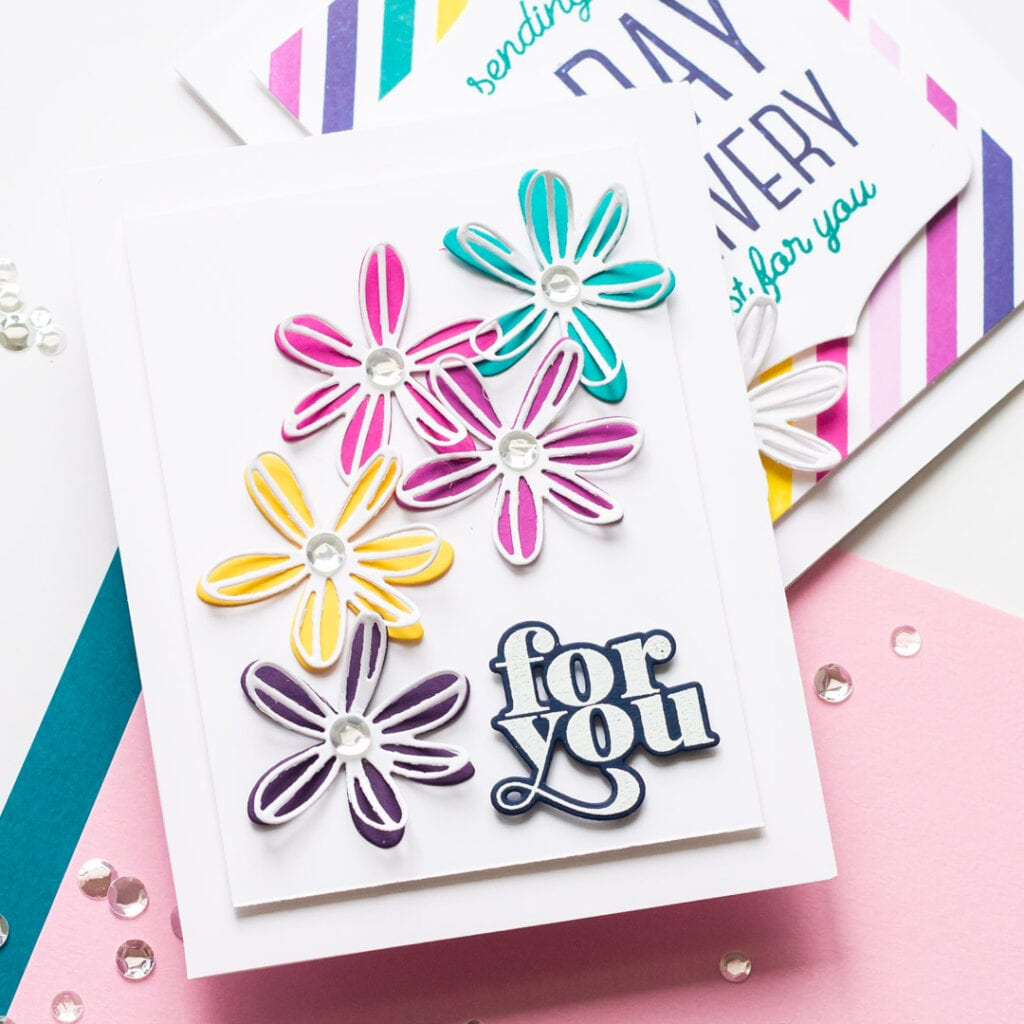 A Birthday Delivery Just for You - Handmade Cards