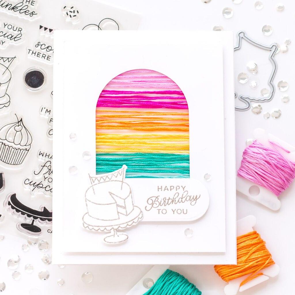 Happy Birthday String Card - Essentials by Ellen