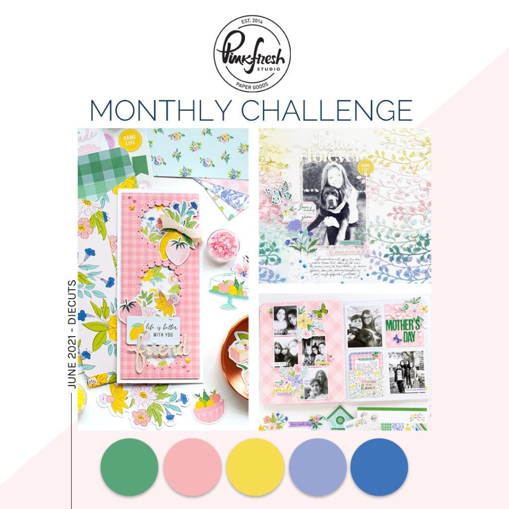 Pinkfresh Studio June Challenge