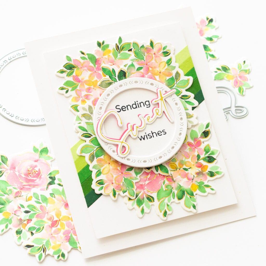 Sending Sweet Wishes - featuring Pinkfresh Studio Washi Tape