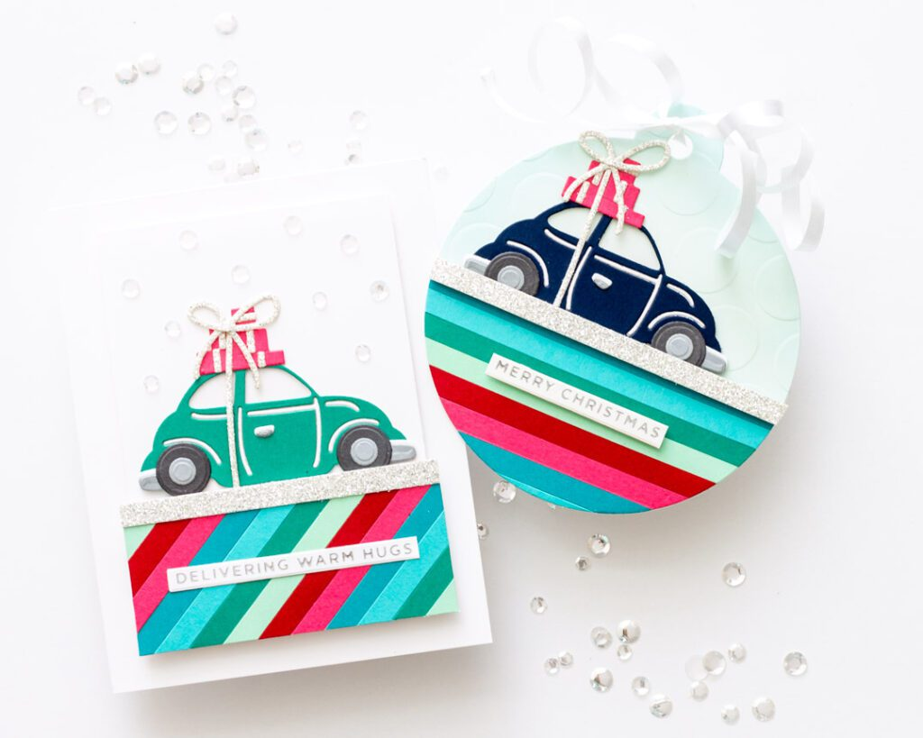 Christmas in July with Spellbinders Tis the Season Collection