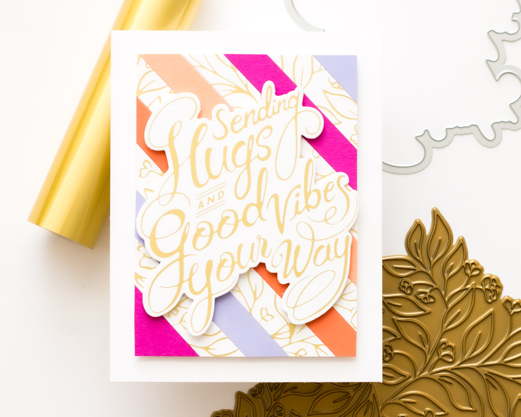 Sweet Blooms and Stripes - featuring Pinkfresh Studio