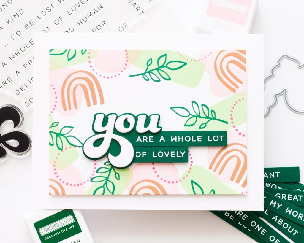 You're a Whole Lot of Lovely - Essentials by Ellen Organic Elements