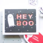 Hey Boo Shaker Card - featuring Essentials by Ellen Fall Release